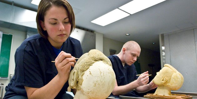 Mortuary Science Students